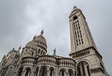 The  Sacre Coeur Church in Paris, France