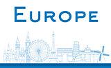 Famous landmarks in Europe
