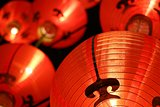 Red lanterns ( Tang Lung ) - Chinese New Year decorations