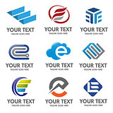 Elegant Letter E logo