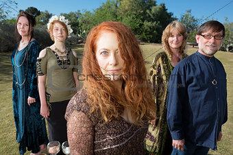 Beautiful Group of Adults