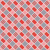 Diagonal seamless pattern in pink an gray trendy hues