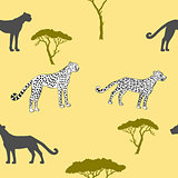 Seamless pattern with savanna animals-04