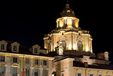 Church of San Lorenzo by Night - Turin Italy