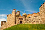 Templar castle of Ponferrada,  Spain