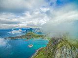 Scenic view of Lofoten