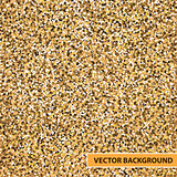 vector gold glitter background