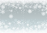 Snowflakes Winter Background