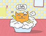 Cat Hates Bath