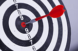 Dart In Center Of Target