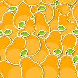 Seamless Pattern Background from Pear Vector Illustration