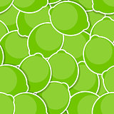 Seamless Pattern Background from Lime Vector Illustration