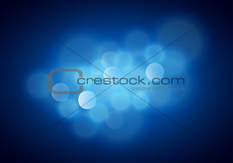 Blue Blurred Background