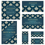 Set of Invitation Cards