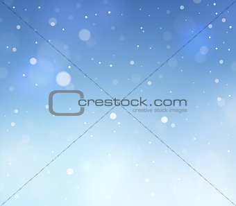 Abstract snow theme background 3