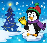 Christmas penguin topic image 2