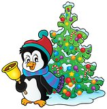 Christmas penguin topic image 3