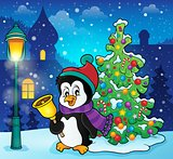 Christmas penguin topic image 4