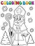 Coloring book Saint Nicolas theme 1