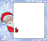 Frame with Santa Claus theme 8