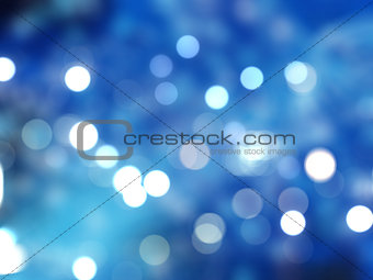 Christmas bokeh lights
