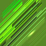 Green Line Background