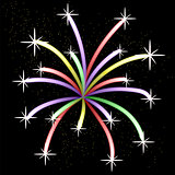 Colorful Light Firework