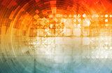 Virtual Technology Background