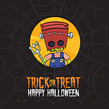 Halloween Trick or Treat Monster Costume