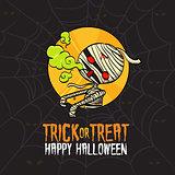 Halloween Trick or Treat Mummy Costume