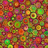 Green Pink Splashes Seamless Pattern Background