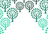 Decorative tree background