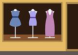 Boutique, women's clothing shop