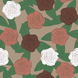 Abstract elegance floral background