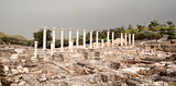 Ancient ruins in Israel travel