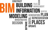 word cloud - bim