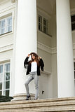 woman with fashion casual style