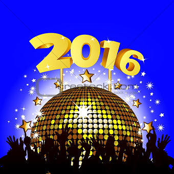 2016 New Year party