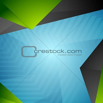 Bright tech modern corporate background