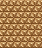 Tripartite pyramid brown seamless texture