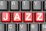 Jazz button on modern computer keyboard