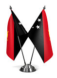 Papua New Guinea - Miniature Flags.