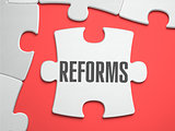 Reforms - Puzzle on the Place of Missing Pieces.