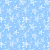 Stars seamless pattern.