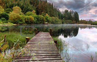 Old Jetty Loch Ard