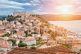 Old town of Sibenik in Croatia