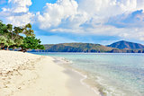 coron white sand beach Palawan Philippines