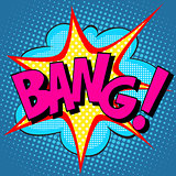 text Bang pop art