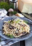 Porcini and parmesan pasta
