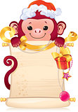 The Red Fire Monkey is a symbol of the new 2016 year.